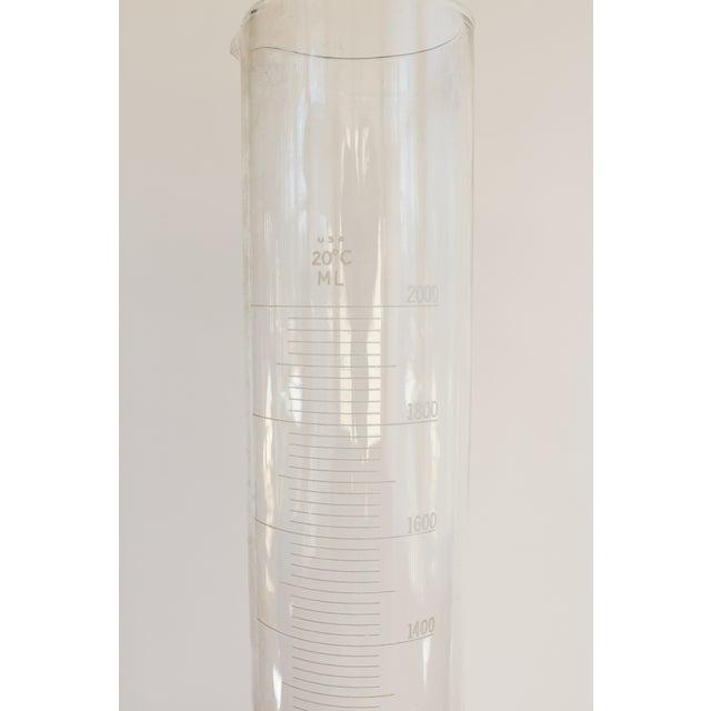 Image of Large Vintage Graduated Cylinder