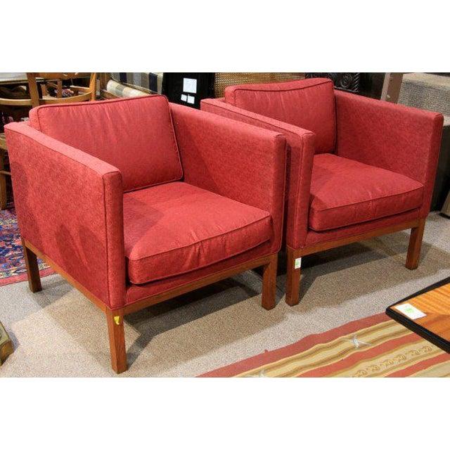 Mid-Century Modern Sofa & Club Chairs - Set of 3 - Image 5 of 6