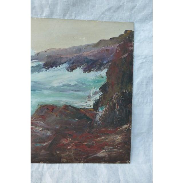 h.l. Musgrave Mid-Century Atlantic Ocean Painting - Image 5 of 7