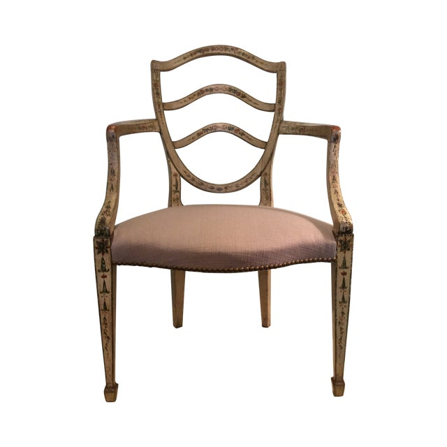 Fine Hepplewhite Open Chair-Late 18th Century - Image 1 of 8