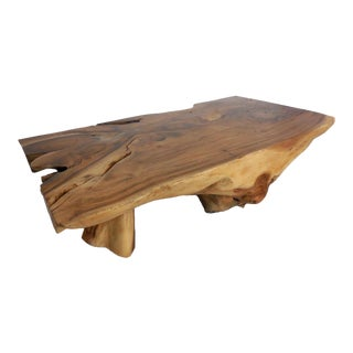 Tropical Hardwood Root Coffee Table