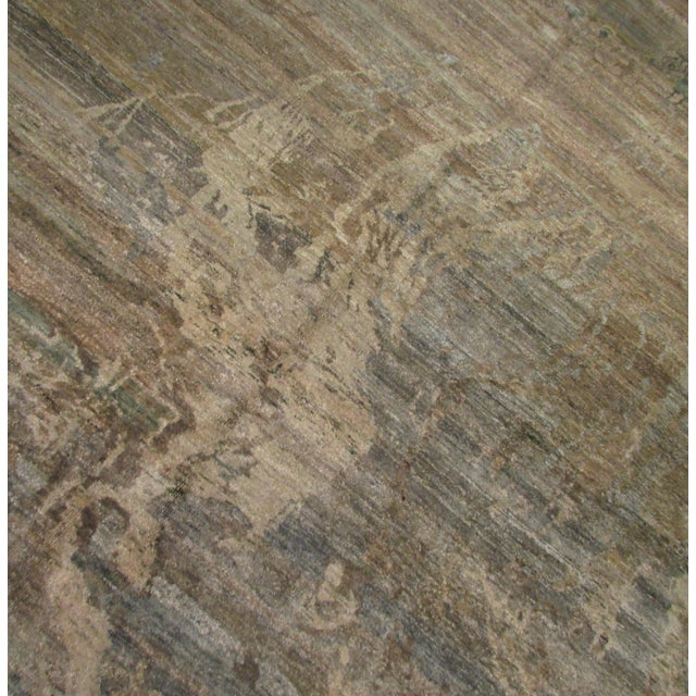 """Abstract Hand-Knotted Rug - 8′ × 9′11"""" - Image 5 of 10"""