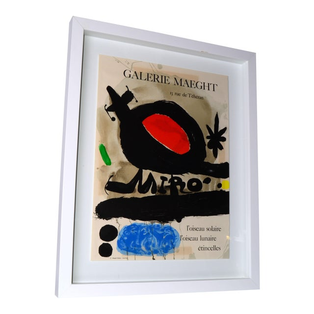 Joan Miró Lithograph Poster By Galerie Maeght - Image 1 of 11