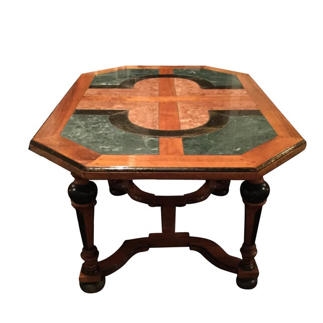 French Marble Dining Table