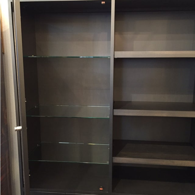 Room & Board Linear Charcoal Custom Cabinetry - Image 5 of 9