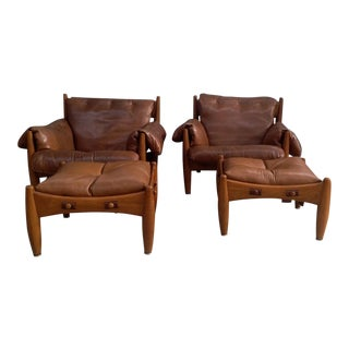 "Sergio Rodrigues ""Sheriff"" Armchairs - A Pair"