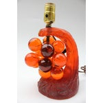 Image of Lucite Grape Cluster Table Lamp