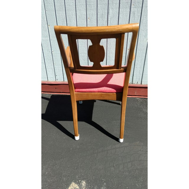 Drexel Butternut Dining Chairs - Set of 6From the Meridian Collection for - Image 5 of 8