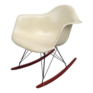 1960s Vintage Eames Rocking Chair