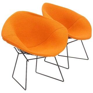 Knoll Bertoia Diamond Club Chairs - A Pair