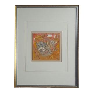 Babu Abstract Drawing