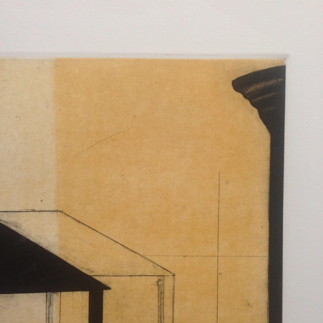 Image of Greg Murdoch Aquatint Abstract Etching