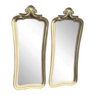 Shabby Chic Mirrors - A Pair