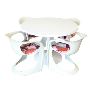 Casalino Tulip Dining Set Designed by Alexander Begge for Casala, 1970s