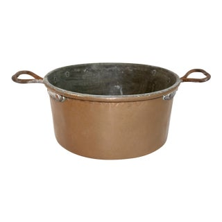 Vintage Rustic Copper Pot