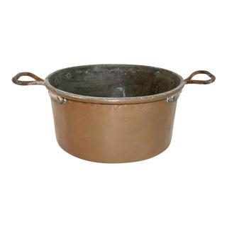 Vintage Rustic Copper Pot