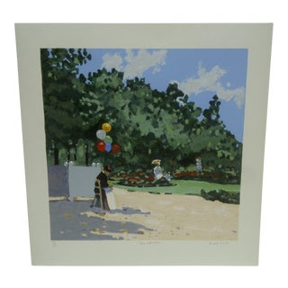 "Frederick McDuff ""The Red Balloon"" Limited Edition Print"