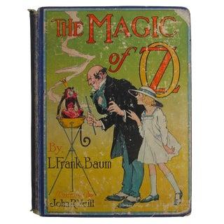 Antique 1919 'The Magic of Oz' Book