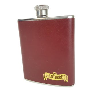 Glenturret Leather Wrapped Flask