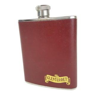 Glenturret Leather Wrapped Flask