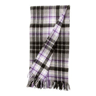 Blackhall Tartan Lambswool & Angora Throw