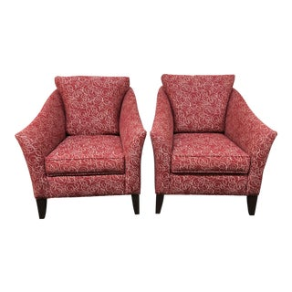 Ethan Allen Gibson Accent Chairs - A Pair