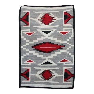 """Traditional Navajo Ganado Rug - 3'2"""" x 4'9"""""""