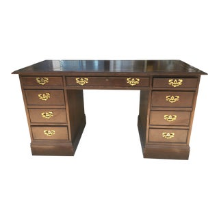 Slight Furniture Leathertop Desk
