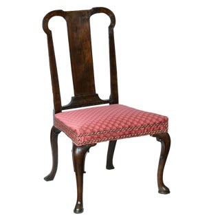 Mahogany Queen Anne Side Chair