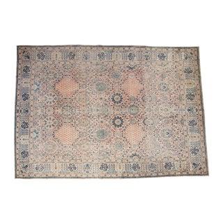 "Vintage Kashan Carpet - 10'1"" X 14'2"""