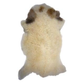 """Unique Handmade Genuine Sheepskin Rug - 2'10"""" X 4'4"""""""