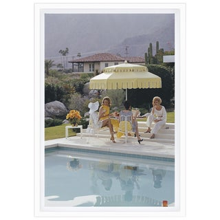 Slim Aarons 'Nelda and Friends' Palm Springs 1970 Framed Print