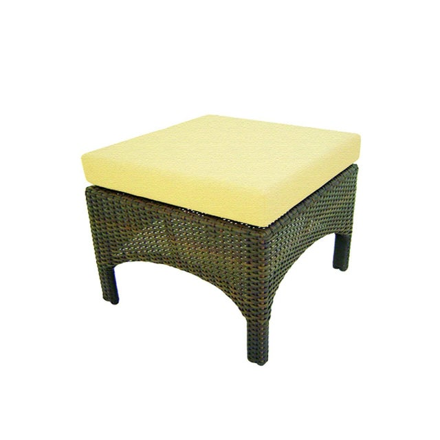 St. Barth Outdoor Handmade Java Ottoman - Image 2 of 2