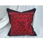 Image of Silk Embroidered Baby Carrier Pillow