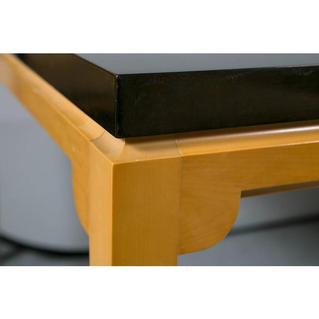 Tommi Parzinger Inlaid Mahogany Dining Table - Image 9 of 9