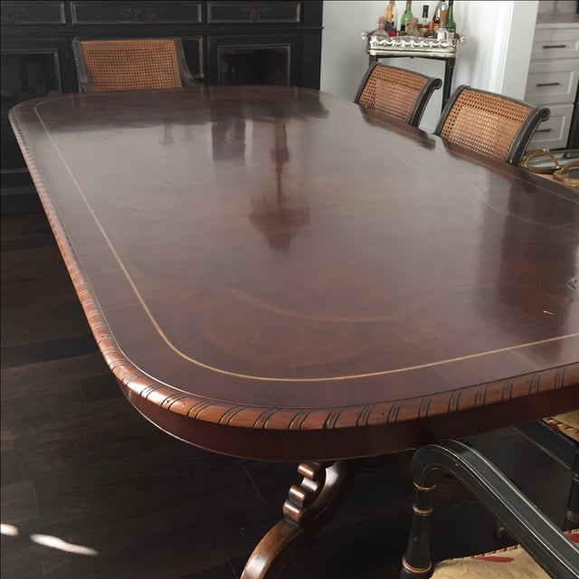 Alfonso Marina Solid Walnut Dining Table - Image 3 of 7