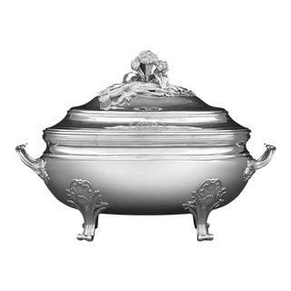 Louis XV Silver Tureen by Jean-Baptiste-Francois Chéret