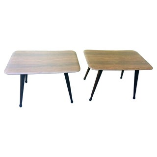 Viko Baumritter End Tables - A Pair