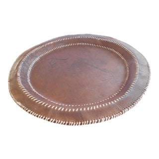 Hand Stitched Leather Tray