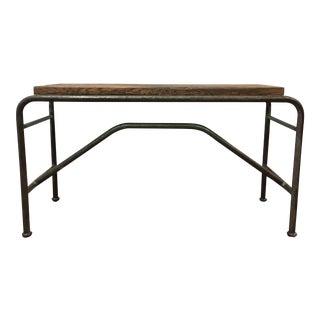 Vintage Industrial Sofa Table