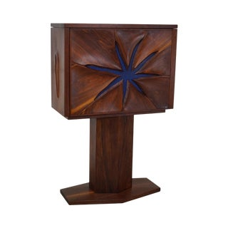 Robert Whitley Studio Crafted Walnut Starfish Desk