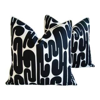 Mid-Century Modern Alexander Girard January Pillows - a Pair