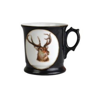 Antique German Stag Shaving Mug