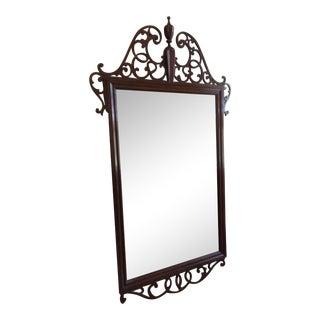 Baker Mahogany Dresser Mirror