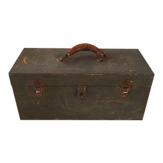 Vintage Metal Tool Box/ Caddy