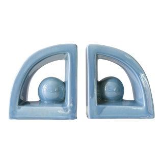 Jaru Art Products Modernist Ceramic Bookends - A Pair