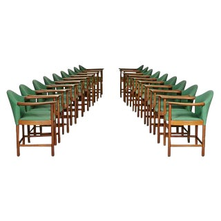 Peter Hvidt Danish Teak Dining Chairs - Set of 16