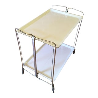 French Mid-Century Rolling Bar Cart