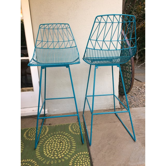 """""""Lucy"""" Bar Stools - A Pair - Image 4 of 5"""