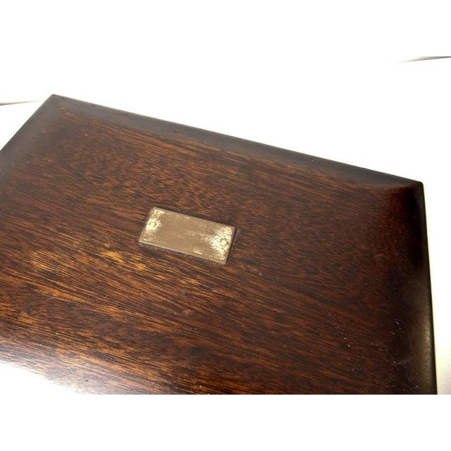 Vintage Wood Jewelry Trinket Box - Image 5 of 9